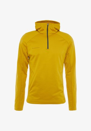 RUNBOLD HOODY MEN - Bluza z kapturem - golden