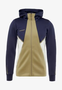 Mammut - AVERS HOODED JACKET MEN - Kurtka z polaru - peacoat/boa - 5