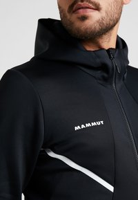 Mammut - AVERS HOODED JACKET MEN - Kurtka z polaru - black - 3