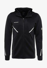 Mammut - AVERS HOODED JACKET MEN - Kurtka z polaru - black - 5