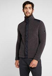 Mammut - INNOMINATA - Fleece jacket - black mélange - 0