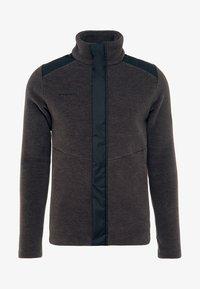 Mammut - INNOMINATA - Fleece jacket - black mélange - 5