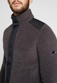Mammut - INNOMINATA - Fleece jacket - black mélange - 6