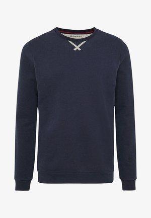 Sweater - peacoat melange
