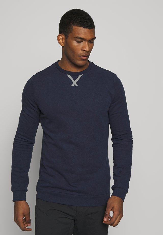 Sweatshirts - peacoat melange