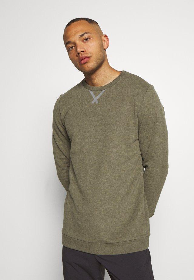 Sweatshirt - tin melange