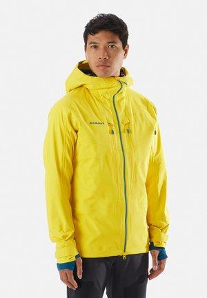 HALDIGRAT - Kurtka snowboardowa - yellow