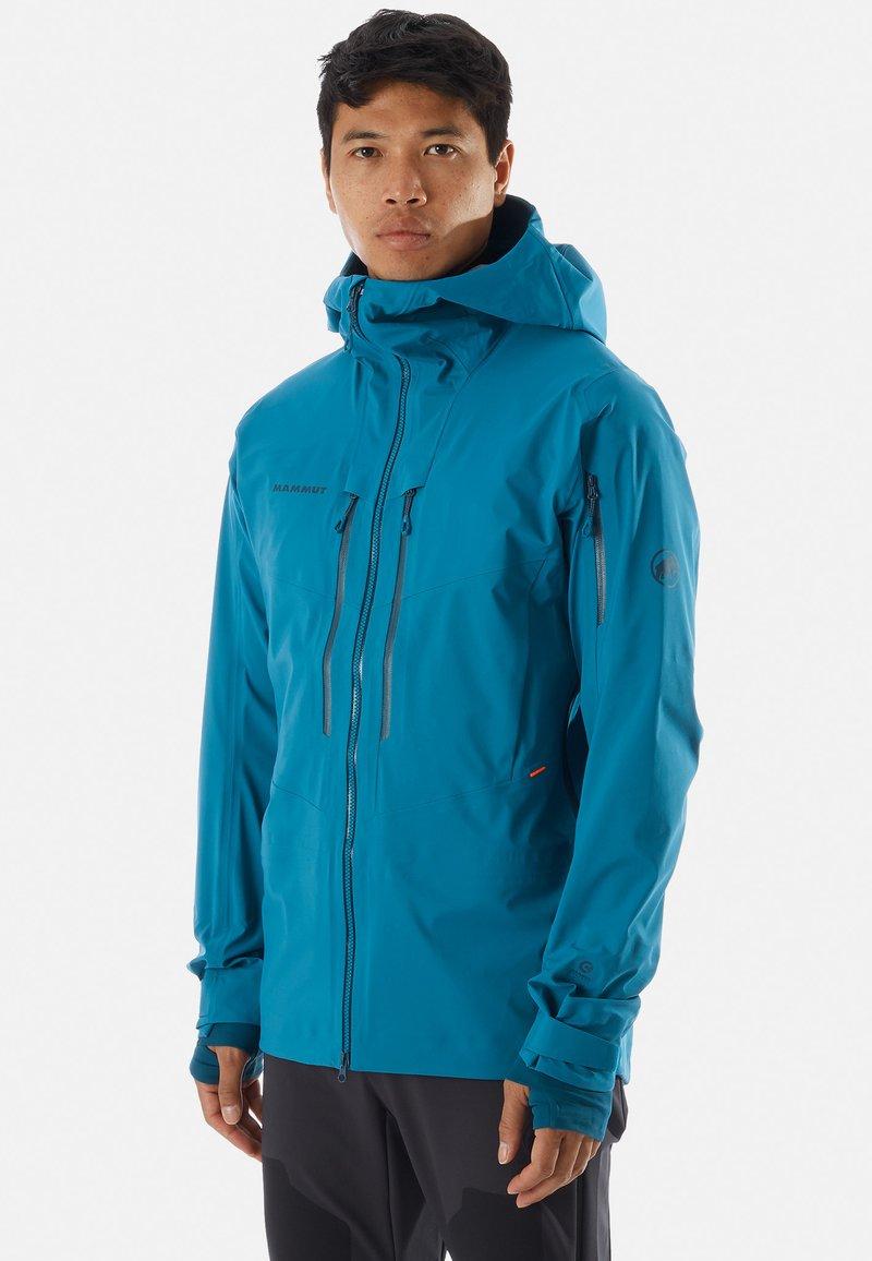 Mammut - HALDIGRAT - Snowboard jacket - blue