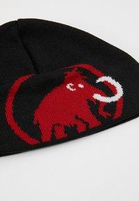 Mammut - TWEAK BEANIE - Czapka - black - 5