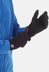 Mammut - GLOVE - Rękawiczki pięciopalcowe - black - 0