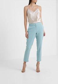 Marella - GULLY - Pantaloni - aquamarine - 0