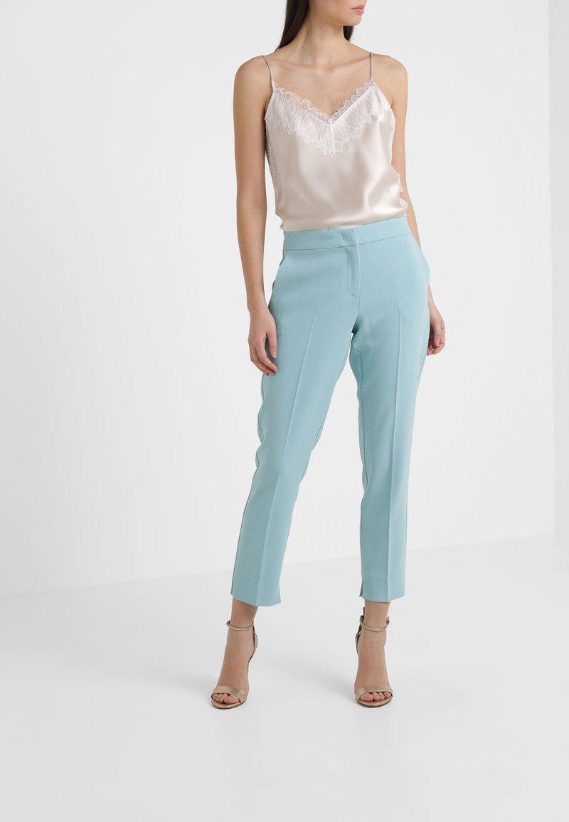 Marella - GULLY - Trousers - aquamarine