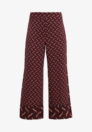VALIKA - Pantalones - bordeaux