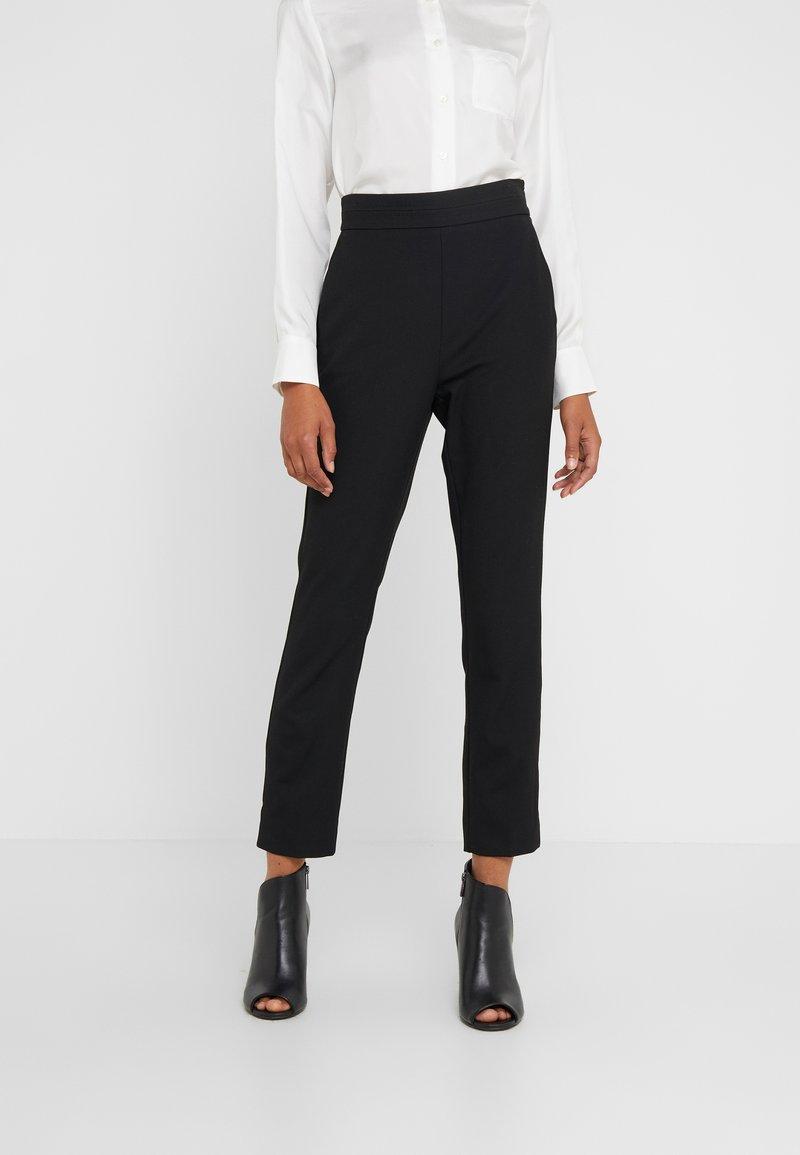 Marella - DEFENCE - Pantalones - black