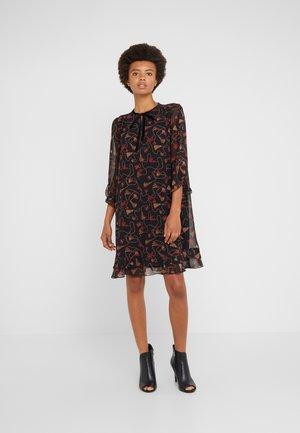 ORDA - Korte jurk - black