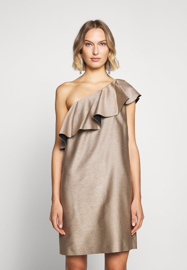 CASERTA - Sukienka koktajlowa - gold