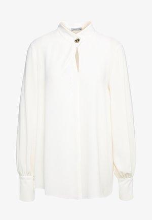 DAMINA - Bluse - wool white