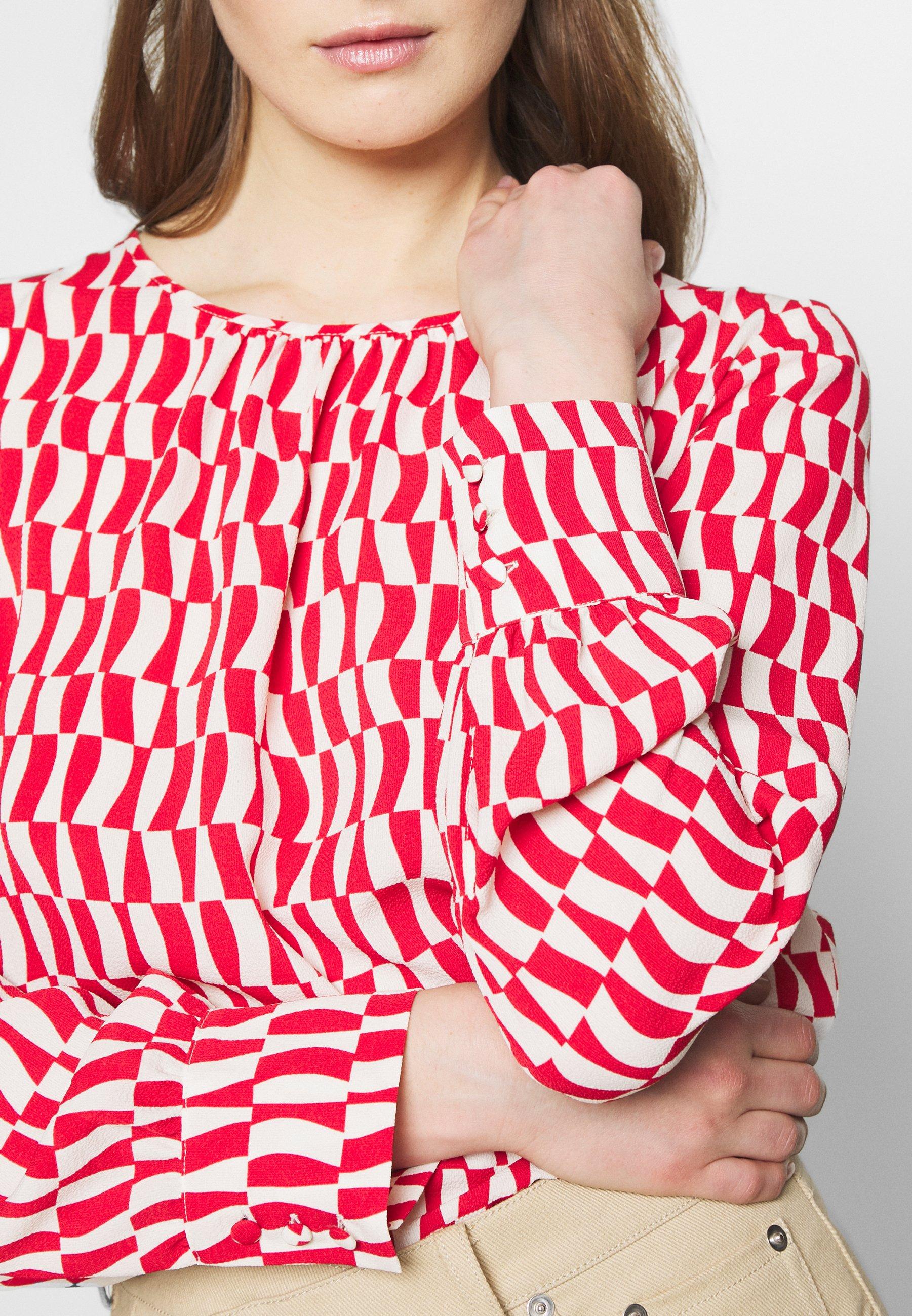 Marella Pulce - Bluse Rosso Black Friday