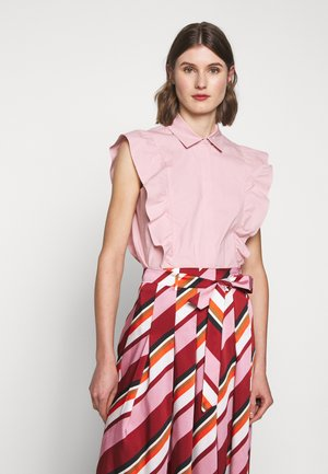 NONE - Button-down blouse - pink