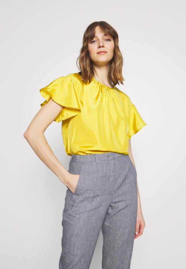 BOZEN - Bluser - yellow