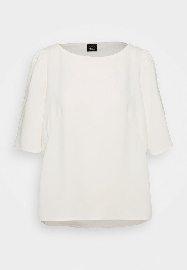 VANESSA - Pusero - bianco lana