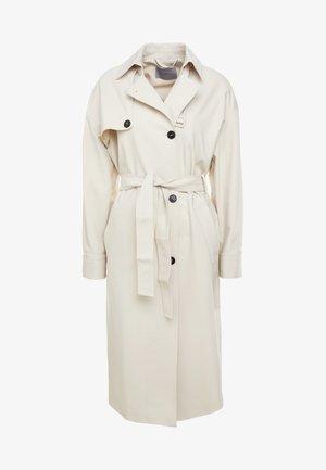 DOLMEN - Trenchcoat - wool white