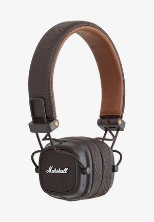 MAJOR III BLUETOOTH - Słuchawki - brown