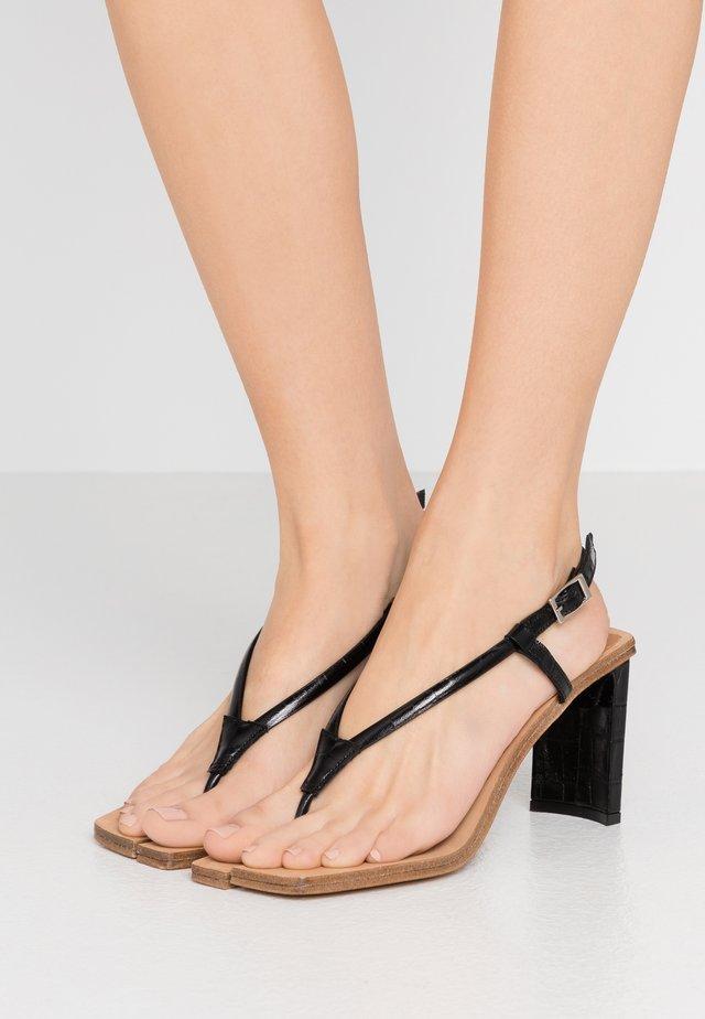 AILSA - Sandali con tacco - black