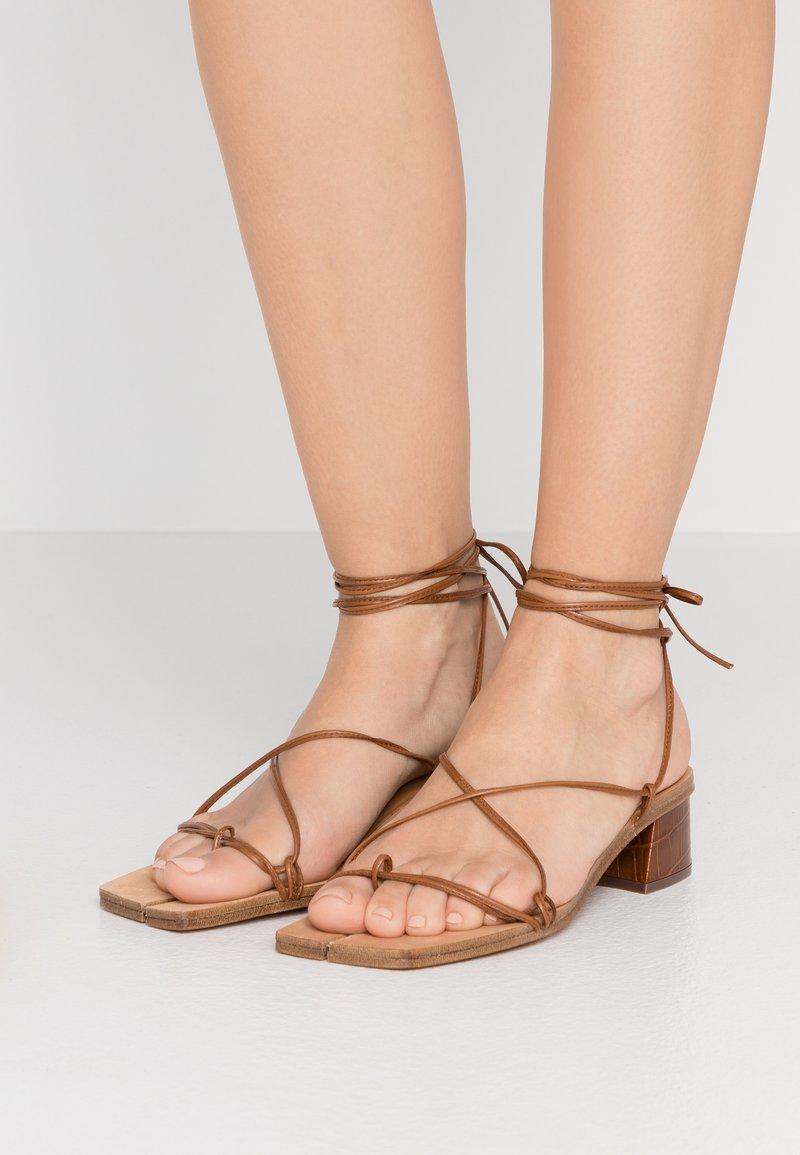 MIISTA - CIMARRON - Sandals - clay