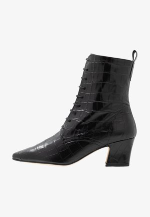 ZELIE - Bottines à lacets - black