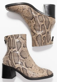MIISTA - CYBIL - Classic ankle boots - taupe - 3