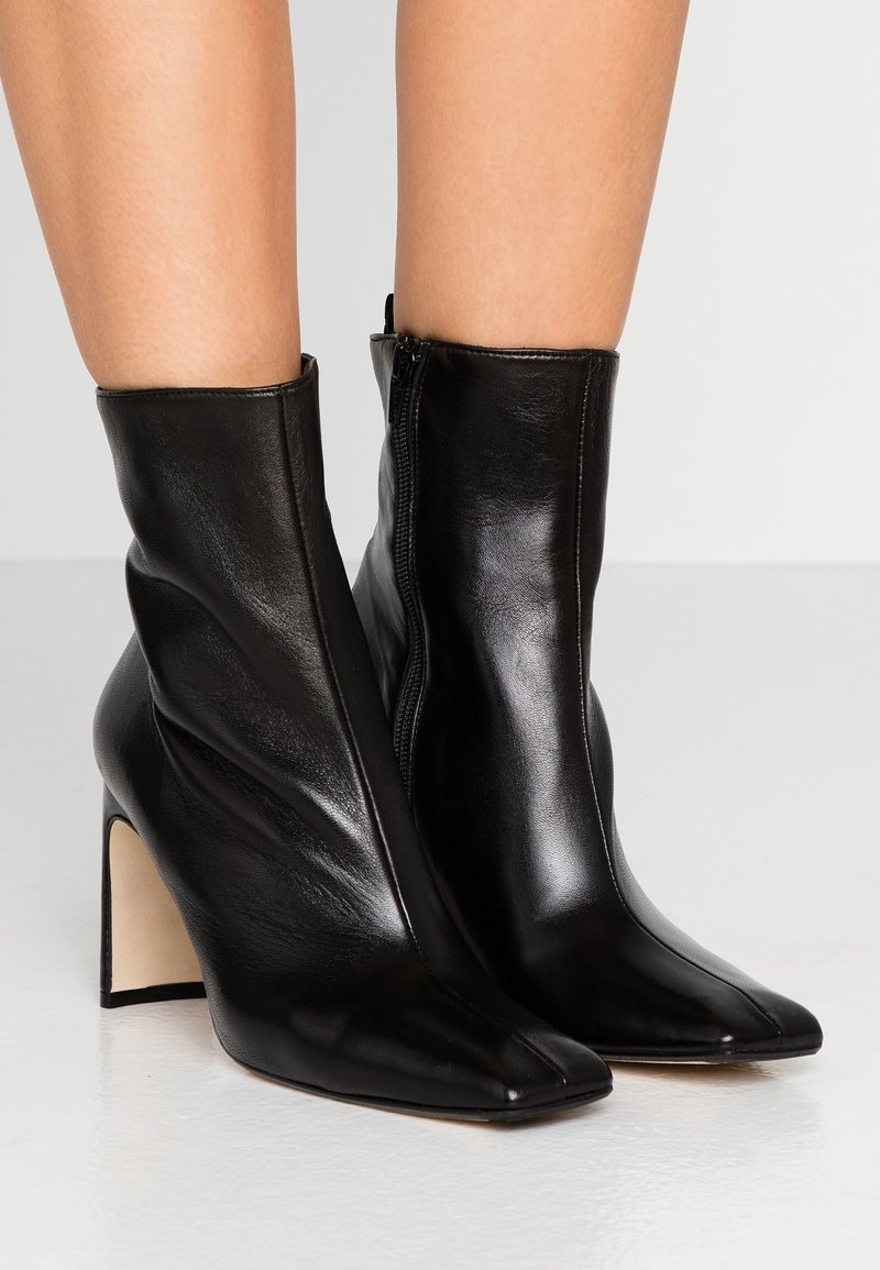 MIISTA - MARCELLE - High heeled ankle boots - black
