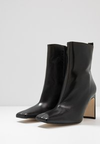 MIISTA - MARCELLE - High heeled ankle boots - black - 4