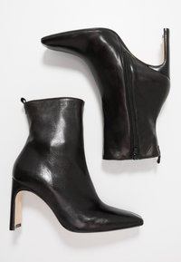 MIISTA - MARCELLE - High heeled ankle boots - black - 3