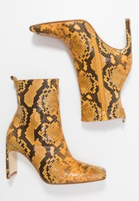 MIISTA - MARCELLE - High heeled ankle boots - honey - 3