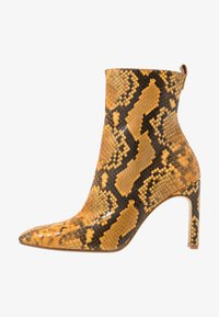 MIISTA - MARCELLE - High heeled ankle boots - honey - 1