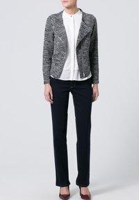 MAC Jeans - MELANIE - Straight leg jeans - dark rinsed - 1
