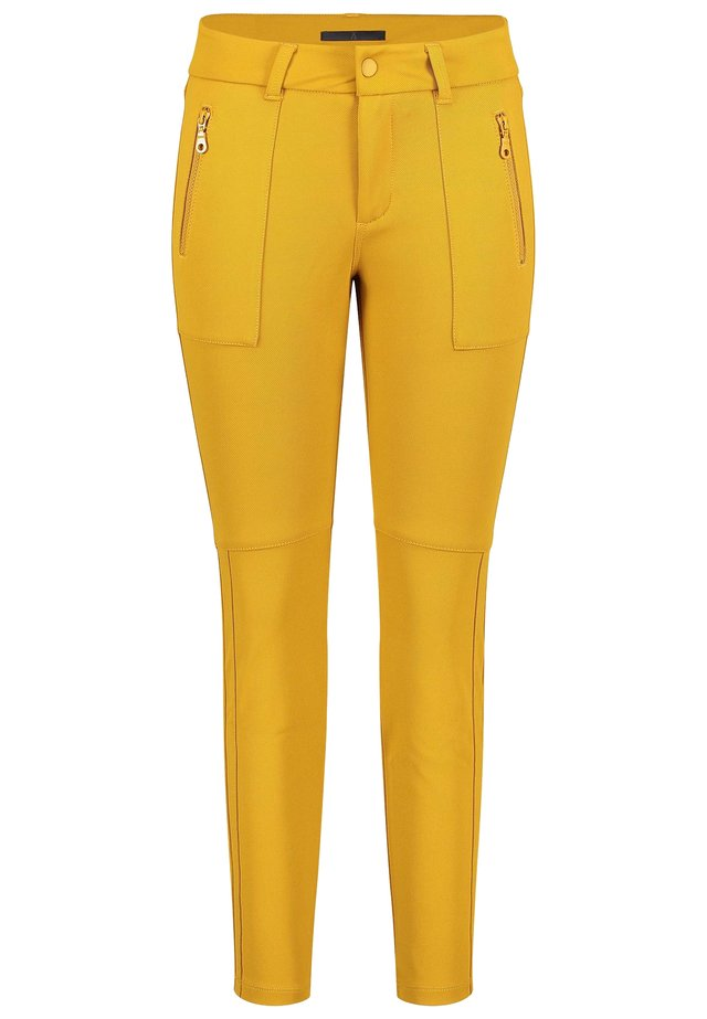 VISION PANTS - Trousers - honey-mustard
