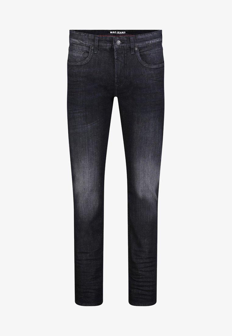 MAC Jeans - ARNE - Straight leg jeans - black vintage used