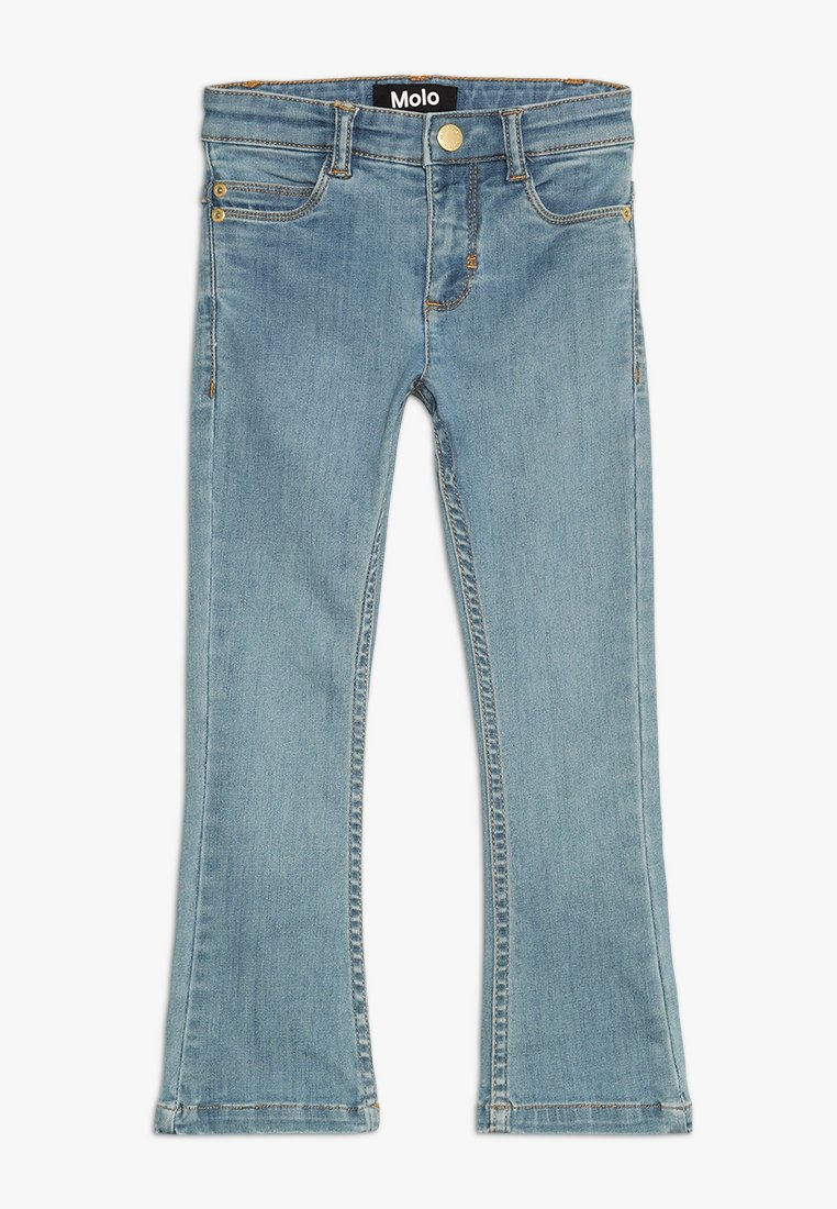 Molo - ALIZA - Jean bootcut - light washed blue