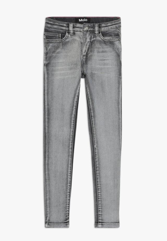ANGELICA - Skinny džíny - grey washed denim