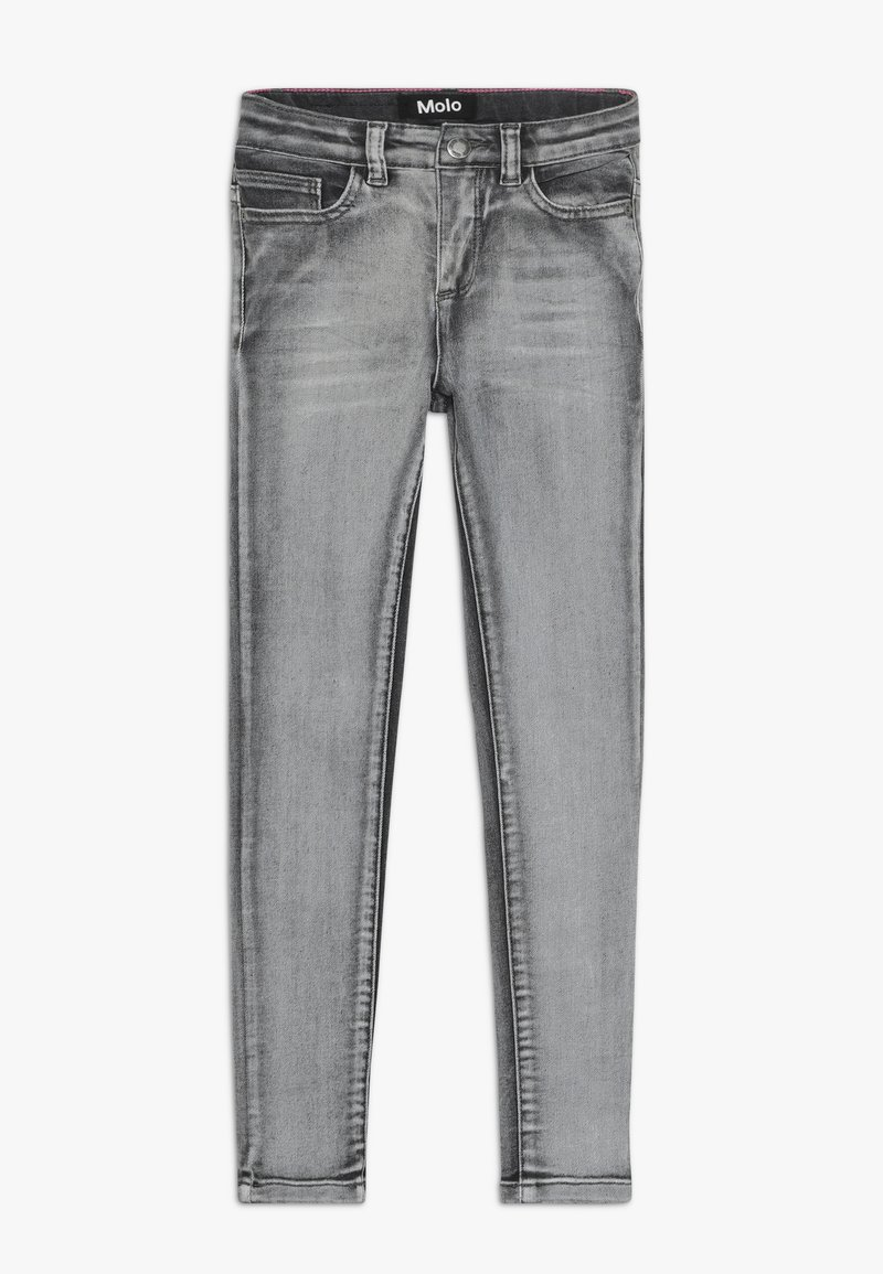 Molo - ANGELICA - Jeans Skinny Fit - grey washed denim