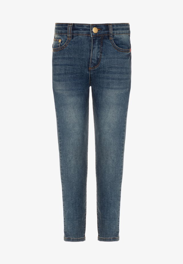 ANGELICA - Jeans Skinny Fit - washed dark blue