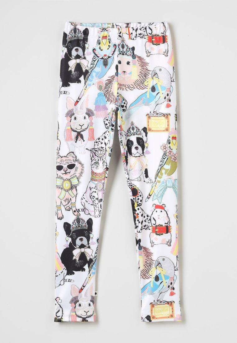 Molo - NIKIA - Leggings - Trousers - white/multi-coloured