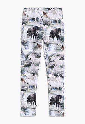 NIKI - Leggings - Hosen - mottled grey