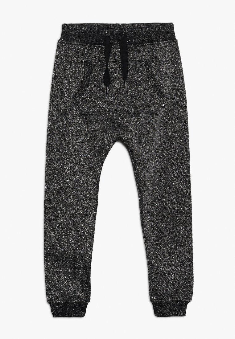 Molo - ALIKI - Pantalones deportivos - silver/black