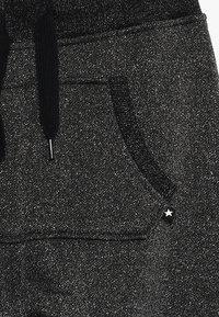 Molo - ALIKI - Pantalones deportivos - silver/black - 4