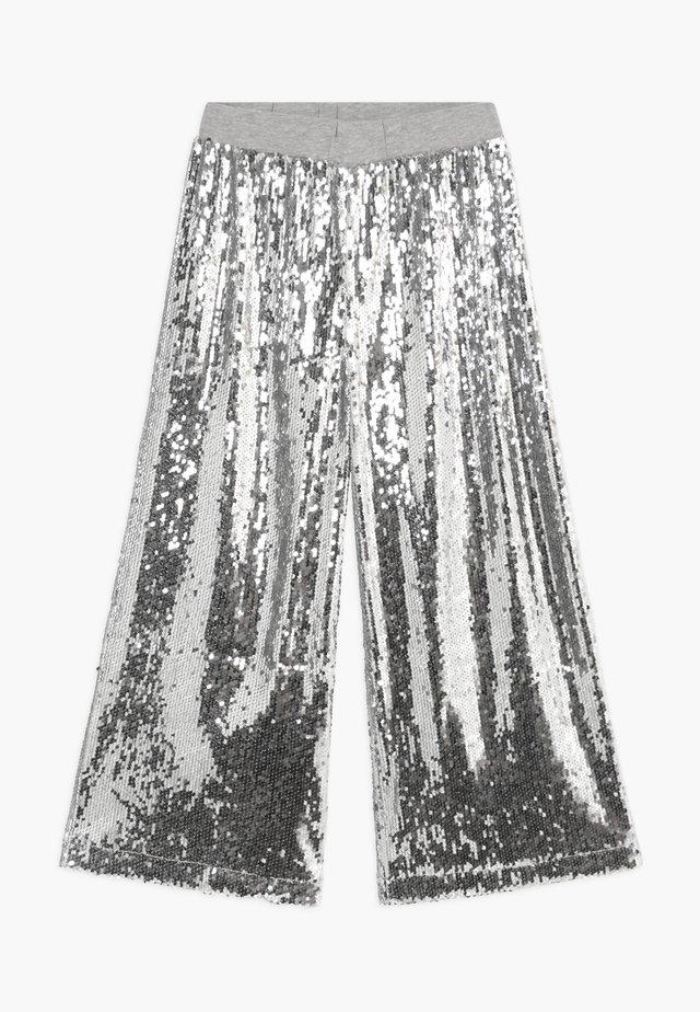 ALIECIA - Broek - silver