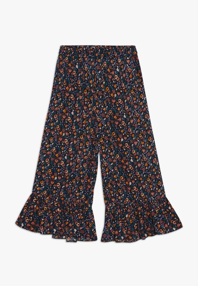 ANIS - Stoffhose - black/multi-coloured