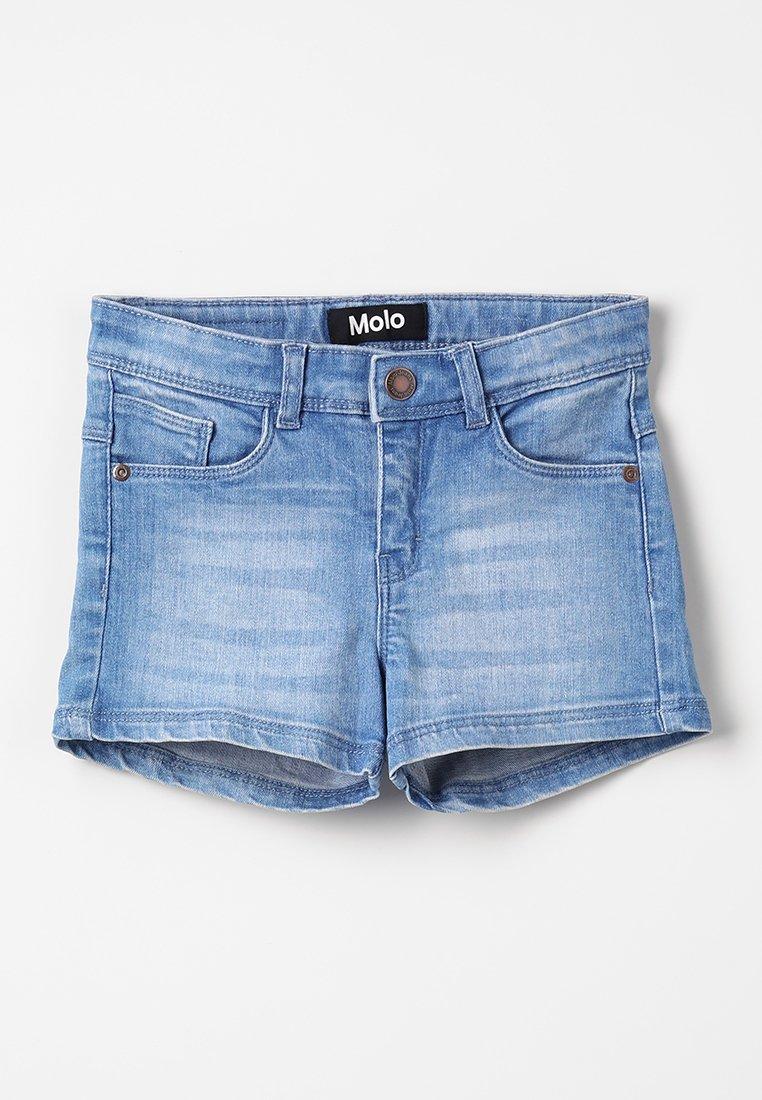 Molo - ALISHA - Džínové kraťasy - soft blue
